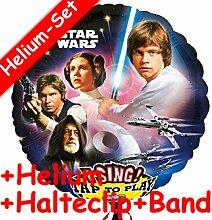 * Singendes * Folienballon Set * STAR WARS * +