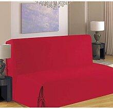 - Sofabezug für für BZ, bordeaux, 140 x 190 cm