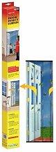 (STV) Easy-Fit 4-teiliges Tür Insektenschutz Vorhang (Stv231)