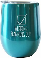 (Teal - Wedding Planning Cup) - Wedding Planning