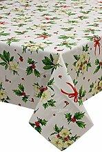, Tischdecke Weihnachten rechteckig für 6vallesusa ro