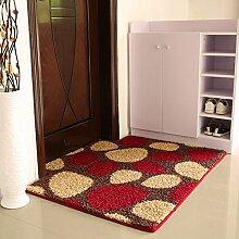 (Tür, Bad, Küche) rutschfeste Matte, Fußmatte, Matte, einfach und modern und 100*120 Cmi