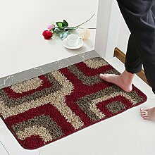 (Tür, Bad, Küche) rutschfeste Matte, Fußmatte, Matte, einfach und modern und 50*80 Cmg