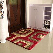 (Tür, Bad, Küche) rutschfeste Matte, Fußmatte, Matte, einfach und modern und 100*100 Cmm