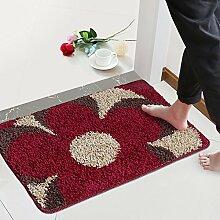 (Tür, Bad, Küche) rutschfeste Matte, Fußmatte, Matte, einfach und modern und 60*90 Cmd