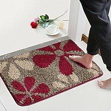 (Tür, Bad, Küche) rutschfeste Matte, Fußmatte, Matte, einfach und modern und 50*80 Cmh