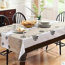 [verdicken]PVCTischdecken/Wasserfeste Einweg-Tischdecke/ Kunststoff Einweg Tischdecken/ Öl-Tischdecke/Tischdecke decke/ Kunststoff Tischdecke/Tischdecke decke-K 106x152cm(42x60inch)