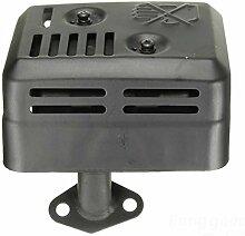 [Versand kostenlos] Abgas Endschalldämpfer mit Hitzeschild für Honda GX1602005,56,5HP//exhaust Muffler with Heat Shield for Honda GX1602005,56.5HP