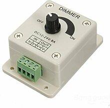 [Versand kostenlos] Helligkeit mit Dimmer LED verstellbar Kontrolle Regler 12V 8A//LED Light Dimmer Brightness Adjustable Control Controller 12V 8A