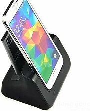 [Versand kostenlos] Zwei in einem Wiege DESKTOP Ladegerät Direkte Ladegerät für Samsung S5//Two in One Desktop Cradle Hochladen Direct for Samsung S5