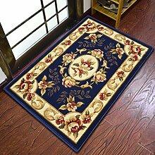 #Wohnzimmerteppich Home Tür Matratze Eingang Schlafzimmer Wohnzimmer Türmatten Küche WC rutschfeste Matte Decken ( Farbe : A , größe : 80*150CM )