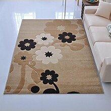 #Wohnzimmerteppich Rechteckiger Bereich Teppich Teppich der Tür Eingang Teppich Türmatten Wohnzimmer Teppich Couchtisch Matten Decken ( Farbe : A , größe : 80*120cm )