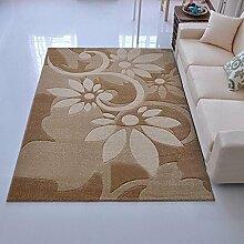 #Wohnzimmerteppich Rechteckiger Bereich Teppich, Teppich der Tür Eingang Teppich Türmatten Wohnzimmer Teppich Couchtisch Matten Decken ( Farbe : A , größe : 80*100cm )