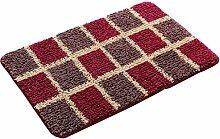 #Wohnzimmerteppich Teppich Design Badezimmer Schlafzimmer Teppich, verschiedene Farben Decken ( Farbe : A , größe : 50*80 )