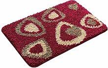 #Wohnzimmerteppich Teppich Design Badezimmer Schlafzimmer Teppich, verschiedene Farben Decken ( Farbe : B , größe : 50*80 )