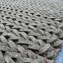 [Wolle handgefertigter Teppiche]/Einfache dicken Teppichboden Sofa Wohnzimmer Schlafzimmer Modern-G 160x230cm(63x91inch)