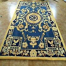 [Wolle handgefertigter Teppiche]/ Wohnzimmer-Teppich/die Halle/Couchtisch Teppiche/ Sofa-Teppich-A 160x230cm(63x91inch)