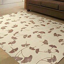 [Wolle und Seide handgefertigte Teppiche]/Schnittblumen Couchtisch Sofa Wohnzimmer Schlafzimmer Teppich und Wolle und Seide Teppiche-I 160x230cm(63x91inch)