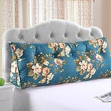 * XMM @ - doppelte Bett weiche Tasche dreieckige Kissen Bett Kissen Kissen Kissen gepolstert Taille Sofa Taille Kissen abnehmbar