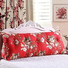 * XMM @ - Nachttisch zur¨¹ck Stativ Bett Kissen Sofa lange Kissen gro?e Kissen Bett Kissen mit Kern abnehmbar waschbar