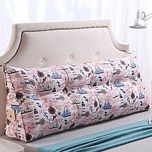 * XMM @ - Sofa Taille Kissen von Bett Kissen Kissen Rückenpolster einzigen doppelten Bettside Dreieck Kissen