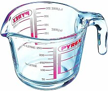 0,25 L Messbecher Pyrex aus Glas