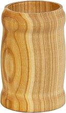 0,33 Liter Holz Becher dunkel Holzbierkrug Holzbecher Bierbecher