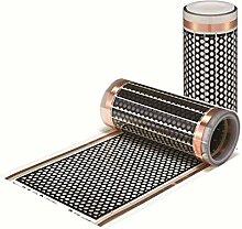 0,5x2,5m Folien-Heizung Stromheizung Infrarotheizung Laminat-Heizung Heizfilm