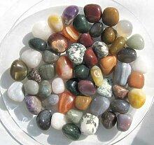 0.5 Kg Trommelsteine aus Indien, 2 - 3 cm, Mischung (1 kg = 18,00 EUR)