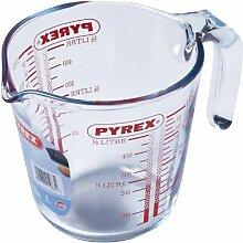 0,5 L Messbecher Pyrex aus Glas