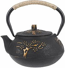0,9 l Gusseisen Teekanne Pot Tea Kettle Drinkware