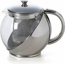 0,9 L Teekanne Roxie aus Edelstahl