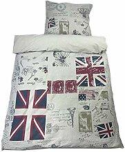 0 Bettwäsche Union Jack Great Britain Baumwolle