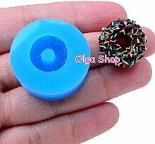 003moule Fimo Backform Silikon Donut Doughnut