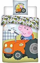 036 Peppa Pig Bettwäsche,