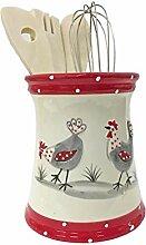 043510 Küchenutensilienhalter aus Keramik, Motiv