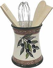 045012 Küchenutensilienhalter, Keramik, mit