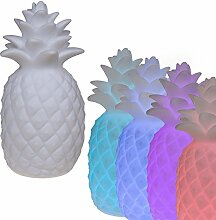 (060) LED Deko Ananas mit farbwechsel Lampe