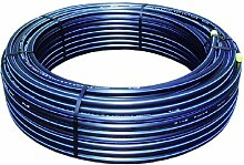 07327002 100 m Ro. PE-HD Rohr silber (sb.) 20x2,0 (PN12,5)