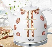 1,2 l Wasserkocher Keramikkessel Schnurloses