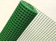 1,2m² MASCHENGEWEBE in 1,2m Br. x 1m Kunststoffzaun Gartenzaun Masche 30mm grün (METERWARE) B3/120