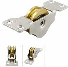 13/25,4cm Single Axle Doppel Bearings Schiebetür Roller Fenster Gewicht Pulley