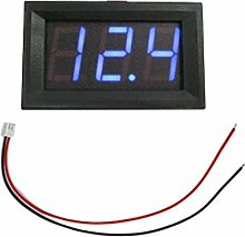 1,4 cm LCD LED Panel Meter Digital Voltmeter mit-Draht -, blau