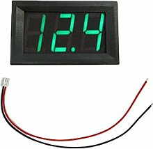 1,4 cm LCD LED Panel Meter Digital Voltmeter mit-Draht -, grün