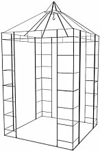 1,5 m x 1,5 m Pavillon Adamou aus Metall