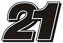 1 Aufkleber Stickers Troy Bayliss 21 Replik