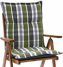 1 Auflage fuer Niederlehner Sessel 103 x 52 cm Miami 90542-200 in gruen (ohne Stuhl)