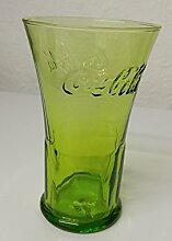 1 Coca Cola Glas, Grün, Rastal Glas, Mc Donalds