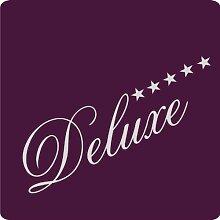 1 Deluxe-Aufkleber zur Dekoration von Wänden, Glasprodukten, Fliesen und allen anderen glatten Oberflächen