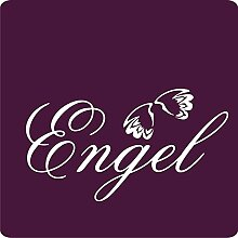 1 Engel-Aufkleber zur Dekoration von Wänden, Glasprodukten, Fliesen und allen anderen glatten Oberflächen